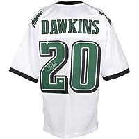 $139 » Brian Dawkins Signed Custom White Pro Style Football Jersey JSA ITP