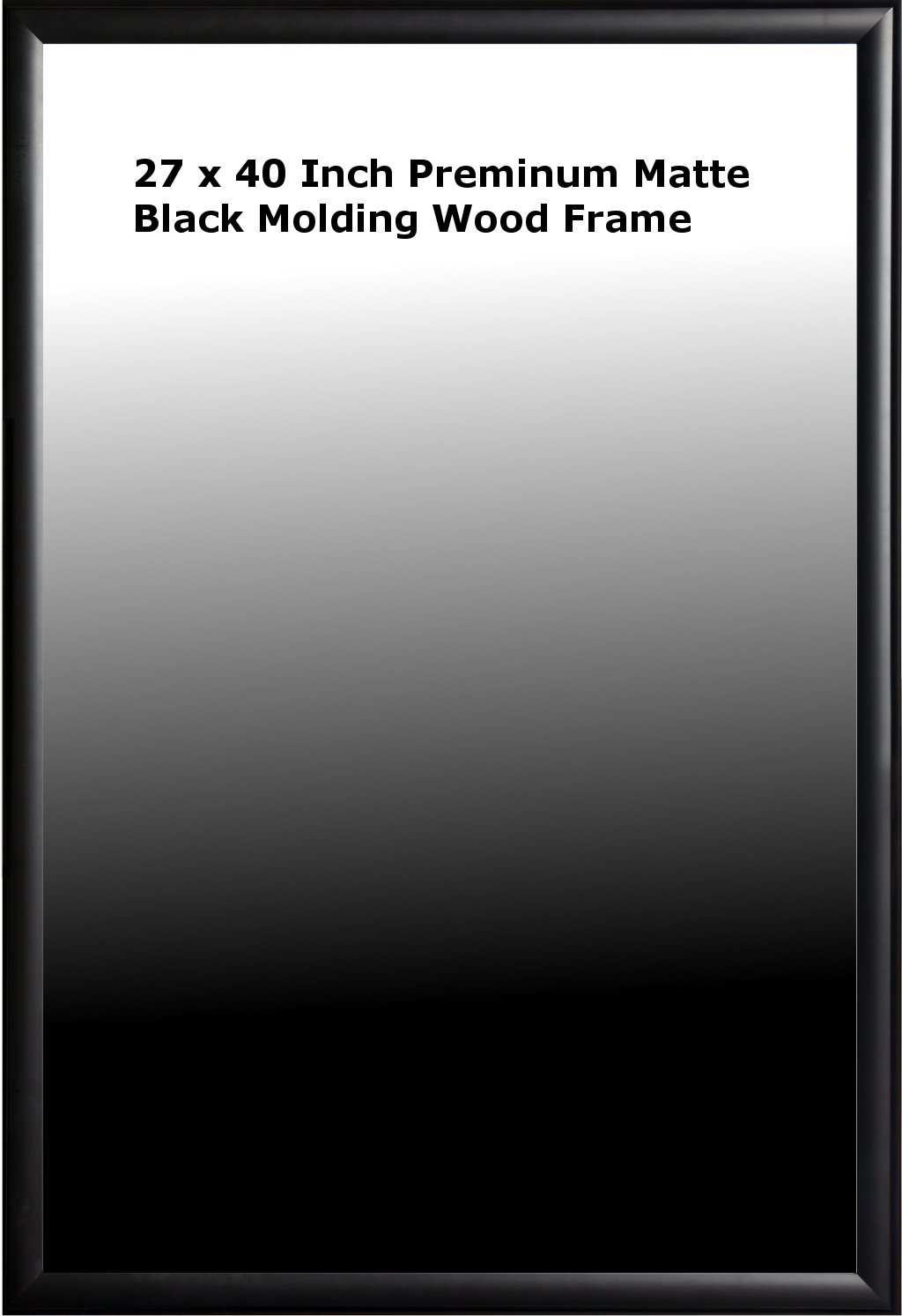 Amazon.com: Poster Art House 27-Inch-by-40-Inch Poster Frame, Black ...