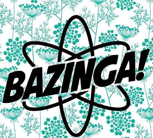 Bazinga Vinyl Decal Atomic Bazinga Sticker Big Bang Theory Sticker Sheldon Cooper Decal
