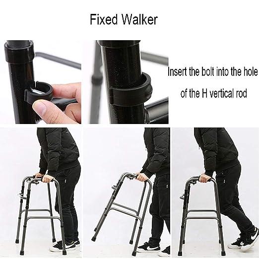 SXXDERTY-Walker Marco Plegable Zimmer para Caminar, Andador ...