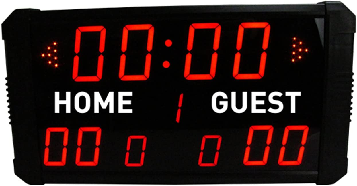 Amazon.com : GAN XIN LED Indoor Professional 12/24/30 Seconds Shot Scoreboard Electronic Digital for Basketball, Baseball/Football/Tennis : Sports & Outdoors