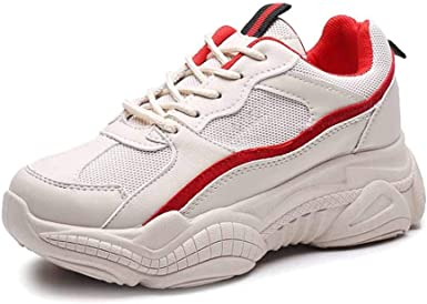 Zapatillas De Plataforma Zapatillas Para Correr Que Absorben Los Golpes Zapatillas De Correr Para Correr Zapatillas De Trabajo Zapatillas Bajas Para Mujer: Amazon.es: Ropa y accesorios