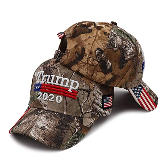 Make Liberals Cry Again USA-300 Adjustable Hat with Flag Brim Trump Hats