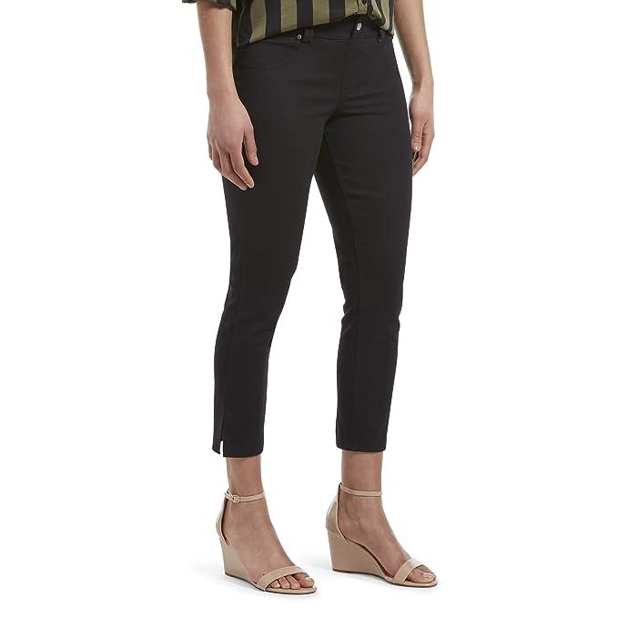 c376d586386a4 Hue womens Ultra Soft Denim Jean Capri Leggings Hosiery: Amazon.ca ...