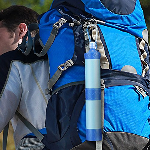 Nesee Outdoor Wild Water Purifier Pressure Water Filter Portable Filter Suction Pipe