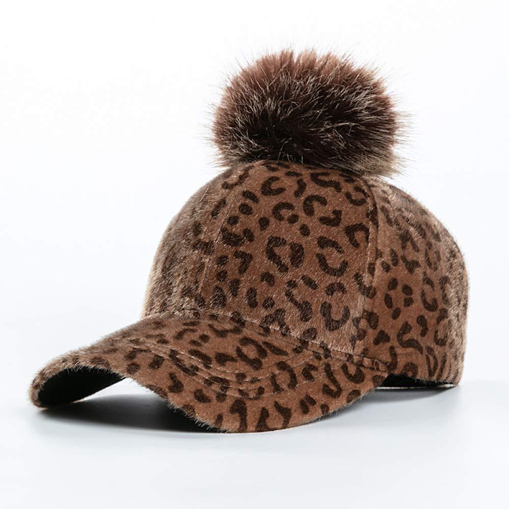 Gorra de béisbol de Piel de Mapache de Leopardo Gorra de béisbol ...
