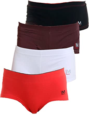 4c71fad0953c0a LisaModa Girls Pantys 4er Pack Stretch Baumwolle Unterhose Slips Set