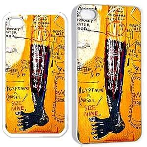 jean michel basquiat ar4 iPhone Hard 4s Case White