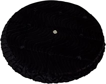 "Lowrider Bike 16/"" Spare Wheel//Tire Cover Velour Black"