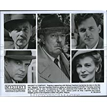 "1992 Press Photo M. Gambon, Jack Galloway, G. Hutchings, James Larkin ""Mystery!"""