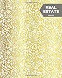Real Estate Notebook: Gold Clients Portfolio Handbook Journal   Open House Listing Negotiating Record Book   Appointment Tracker   Information Organizer (Small Business) (Volume 15)