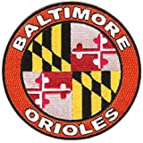 Baltimore Orioles Home Sleeve Jersey Patch