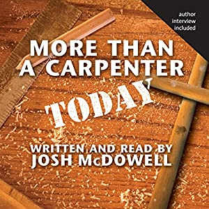 More Than a Carpenter Today Hörbuch