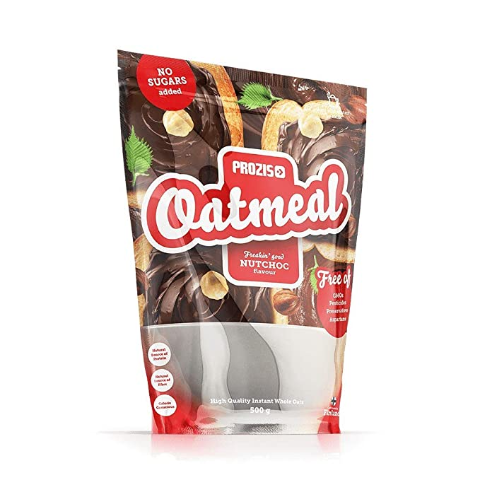 Prozis Oatmeal, NutChoc - 500 gr: Amazon.es: Salud y cuidado personal