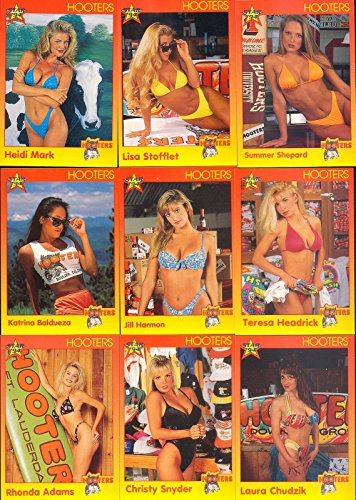 hooters-1994-star-international-complete-base-card-set-of-100