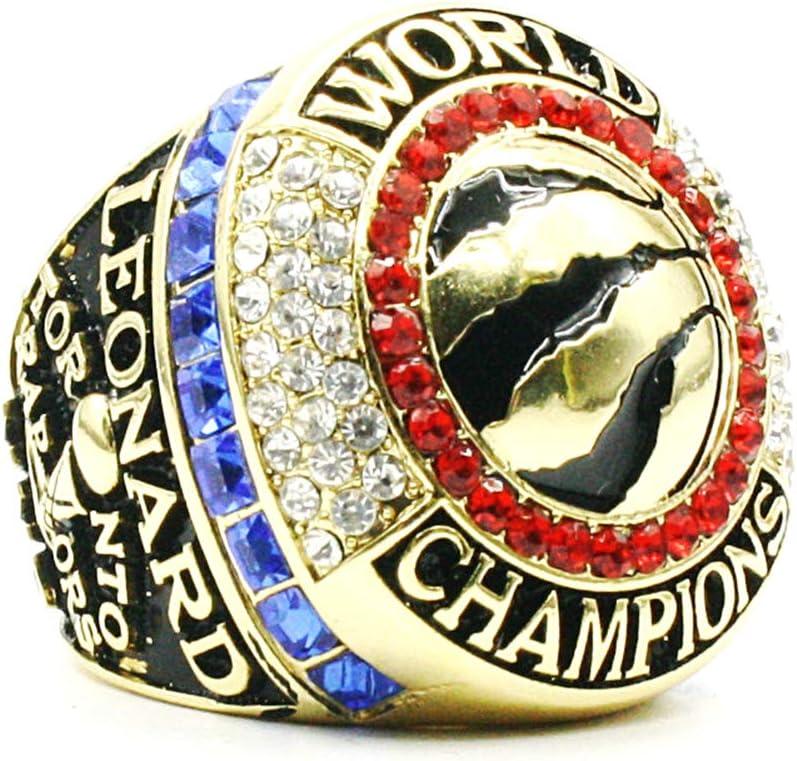Fei Fei NBA 2019 Toronto Raptors Championship Ring Anillos de Hombre, Championship Anillo de réplica Personalizado Anillos de Diamantes para Hombres