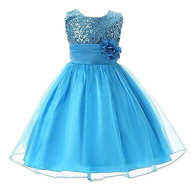 Eagsouni Eagsouni Mädchen Kleid Pinzessin Kostüm Party Kleider mit ...