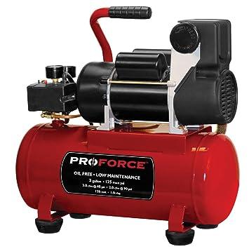 Pro-Force vpf1080318 3-Gallon sin aceite compresor de aire con kit: Amazon.es: Bricolaje y herramientas