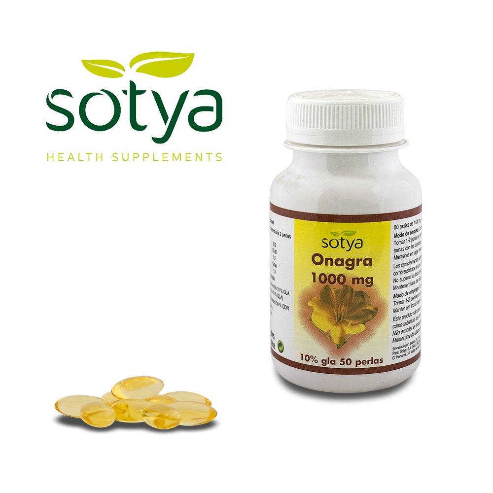 SOTYA - SOTYA Onagra 50 perlas 1000 mg: Amazon.es: Salud y cuidado personal