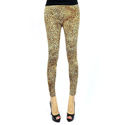 f2e351d6f22 The Elixir Fashion Animal Print Leggings Leopard Leggings Leopard ...