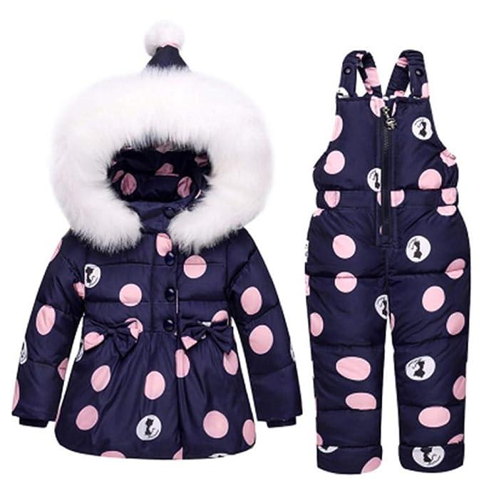 Simanli - Abrigo para la Nieve - Manga Larga - para niña: Amazon.es: Ropa y accesorios