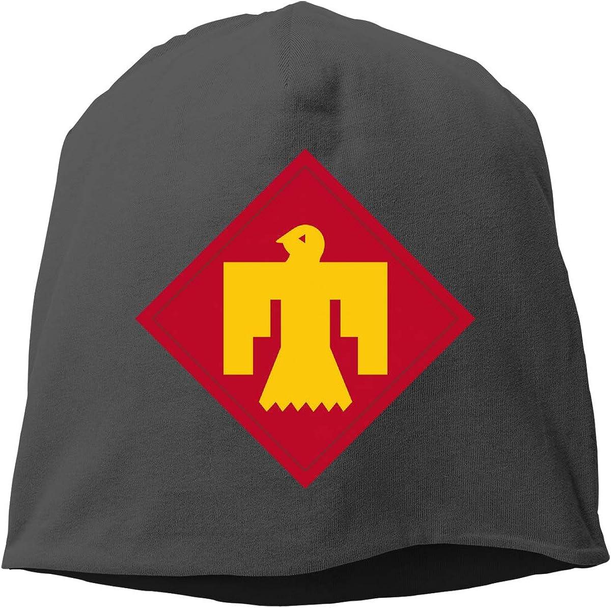 45th Infantry BCT and 35th CAB Skull Cap Helmet Liner Beanie Cap for Men Hip Hop Hedging Head Hat
