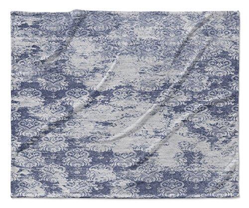 KAVKA DESIGNS Milano Blue Fleece Blanket,  - ENCOMPASS Colle