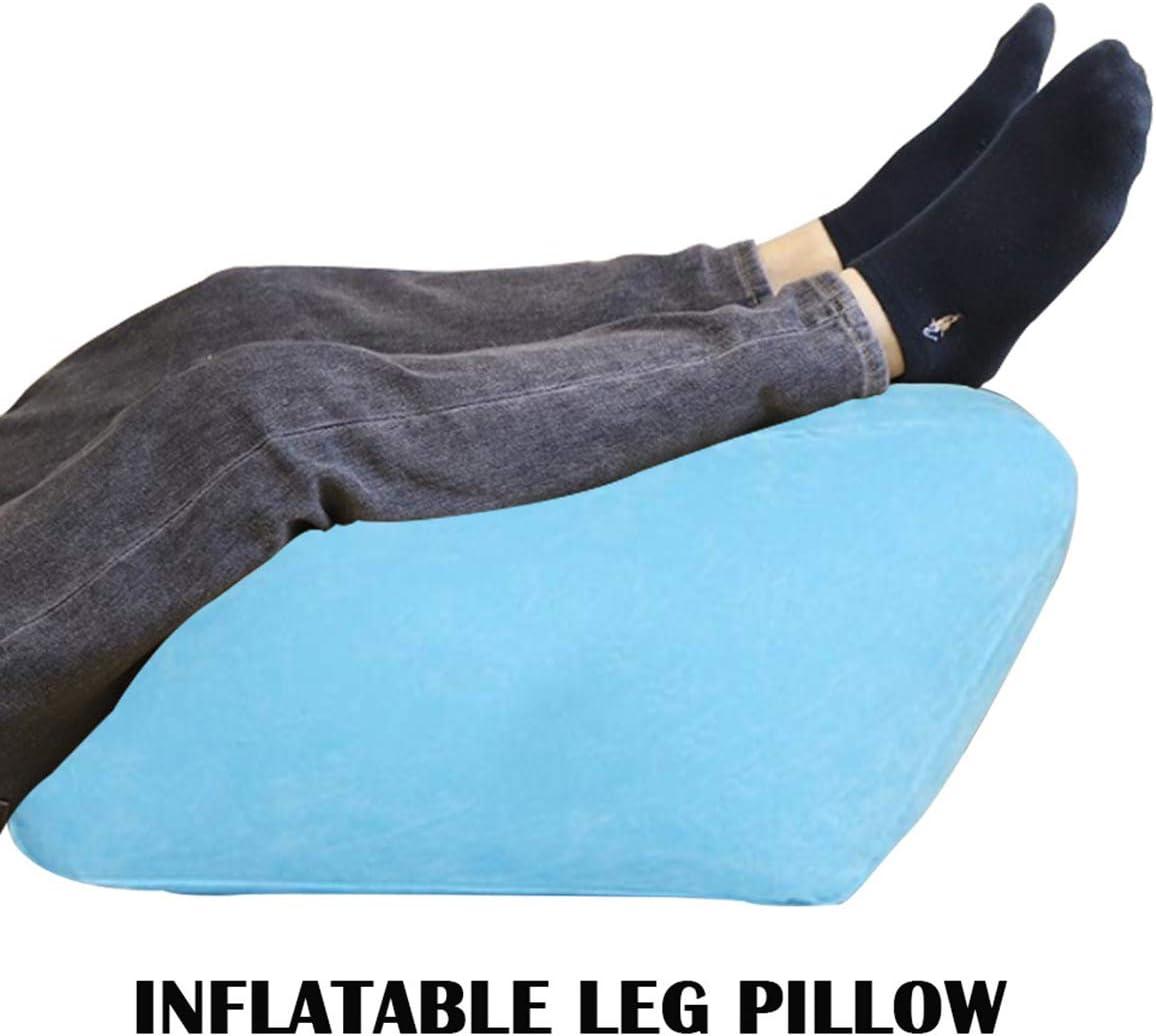 iFCOW Coussin de soutien gonflable pour les genoux pour r/éduire le gonflement et am/éliorer la circulation sanguine.