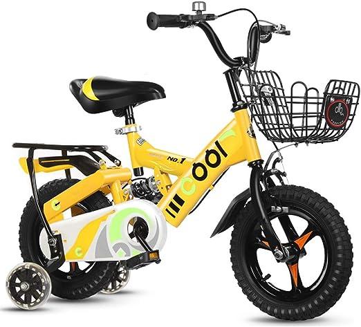 YUMEIGE Bicicletas Bicicletas con Rueda de Entrenamiento y Asiento ...