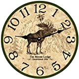 Cheap Personalized Moose Clock