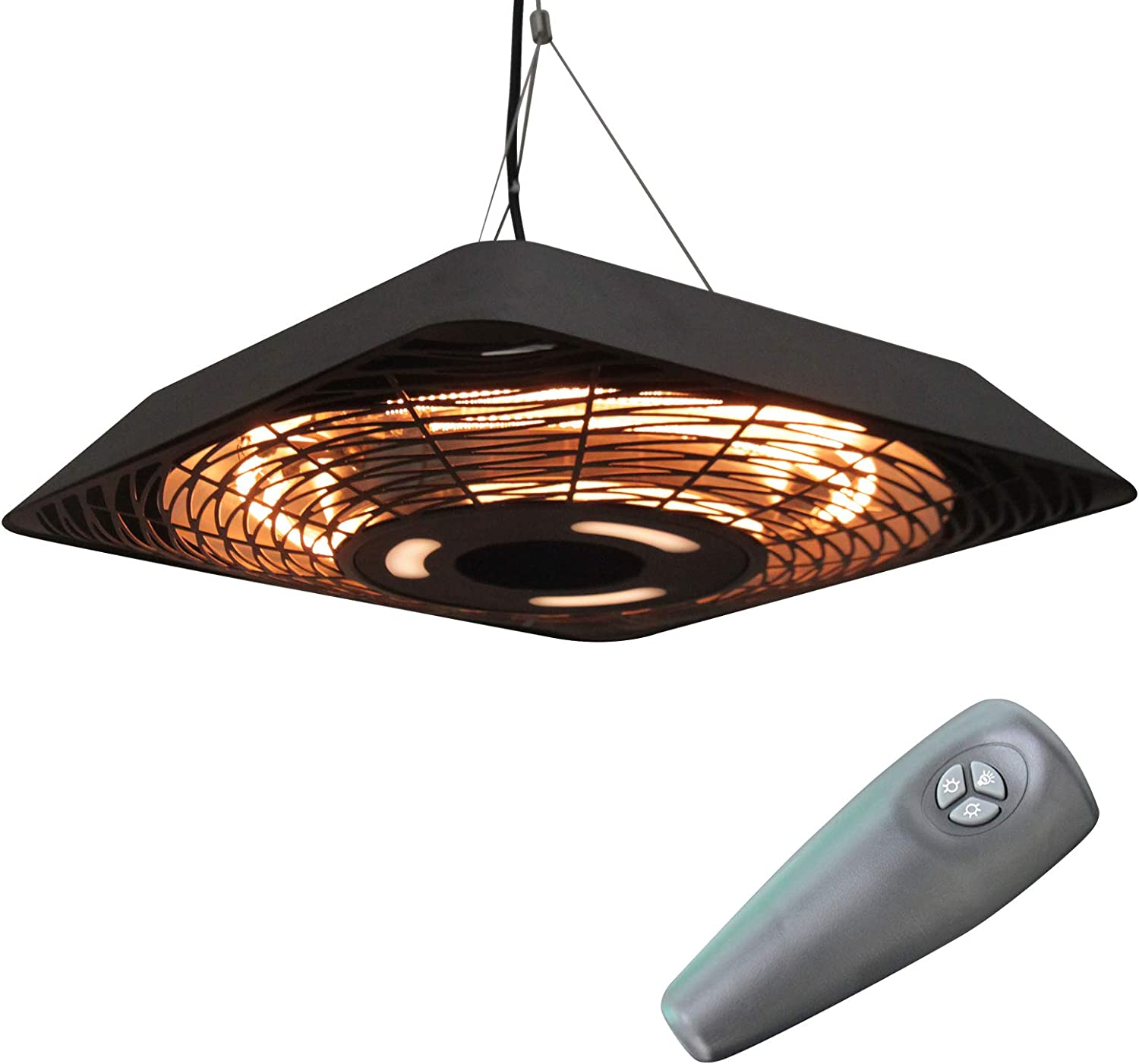 Outsunny 2000W Electric Hanging Patio