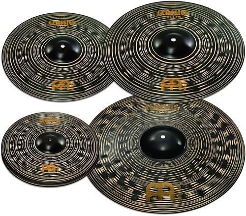 meinl-cymbals-ccd460-18-classics-custom-dark-pack-bonus-cymbal-box-set-with-free-18-dark-crash-video