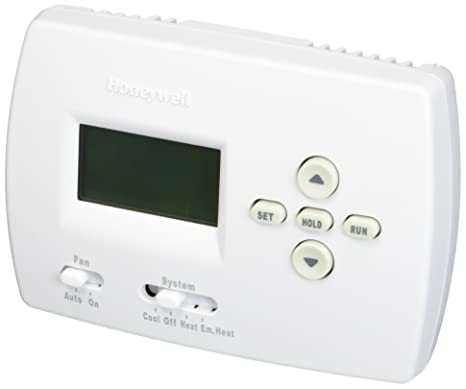 Honeywell TH4210D1005 Electronic Programmable Thermostat with Pullout on