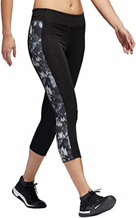 Adidas Women/'s Climalite Sport Essentials Logo Tight Leggings Gym Casual Grey