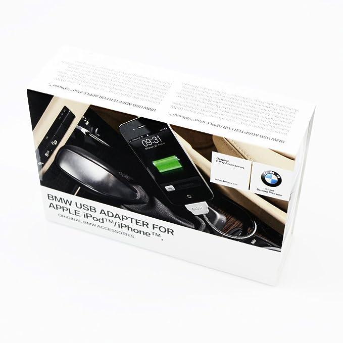 BMW Genuine In-Car USB Adaptador Cargador Cable para Apple ...