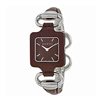 7e971c7adf7 Gucci 1921 Series YA130403 26 Stainless Steel Case Pink Leather Women s  Quartz Watch  Amazon.co.uk  Watches
