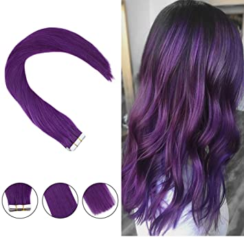 Tape in extensions on short hair