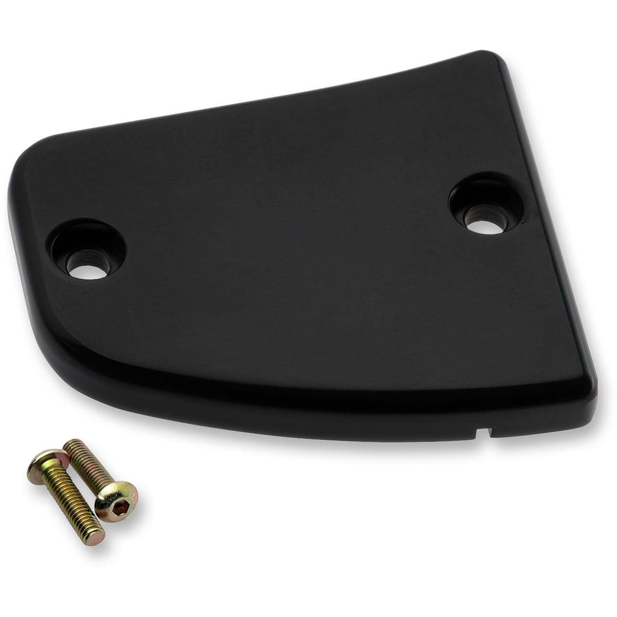Joker Machine 30-381-1 Front Brake Master Cylinder Cover - Smooth - Black Anodized by Joker Machine