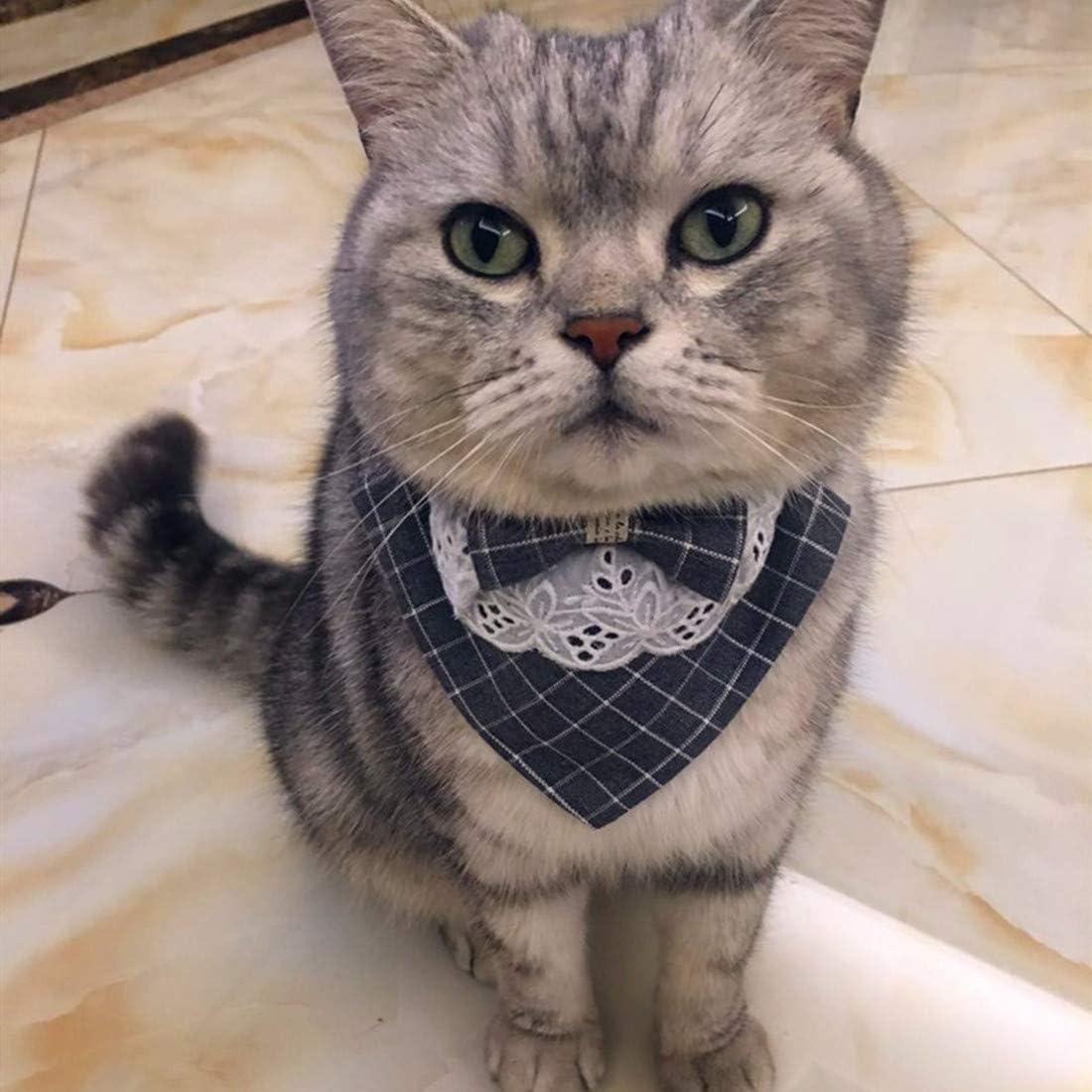VICTORIE Haustier Halsband Krawatte Halsschleife Fliege Kragen f/ür Hunde Katze Welpen