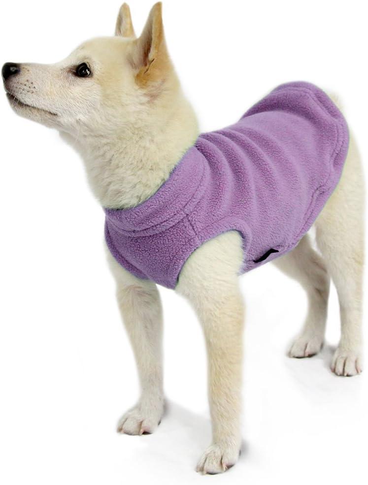 Pullover Fleece Vest Jacket Sweater for Dogs Gooby Stretch Fleece Vest
