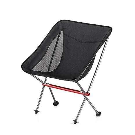 DONGXIN Silla Plegable portátil para Acampar Ultraligero ...