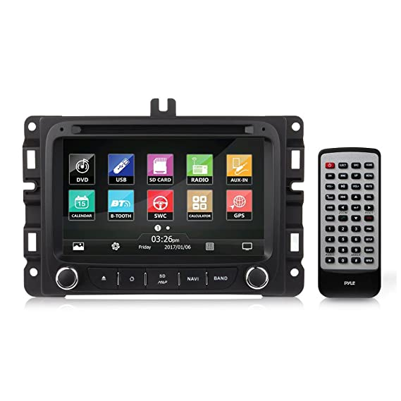 2016 Jeep Renegade Double Din - Replacement Touchscreen Car Head Unit Stereo Radio Receiver with USB