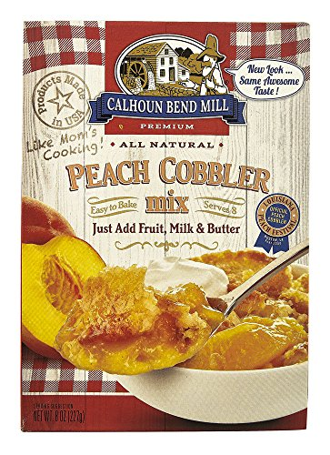 Calhoun Bend Mill All Natural Peach Cobbler Mix -- 8 oz by Calhoun Bend Mill