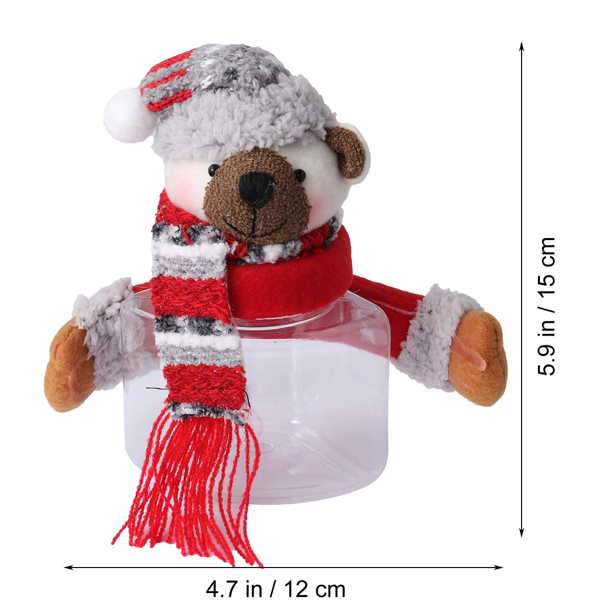 BESTOYARD Caja Oso Cajas de Dulces Decoración de Mesa de Navidad ...