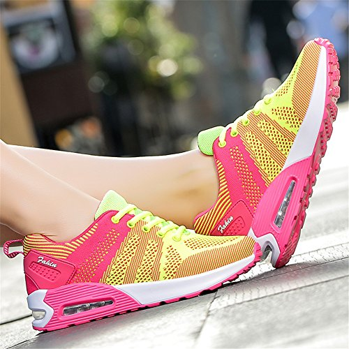 Blossom Sporttrainer Leichte Shock Trainer Lauf Neue Fitness Green Laufschuhe Schuhe Absorbing Jogging Plum Unisex Trainer kashiwu Sport Air Frauen xTX6q7w4