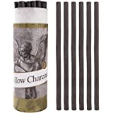 Artist Willow Vine Sketch Charcoal Sticks, Approx. 7-9mm Dia, Pack of 25