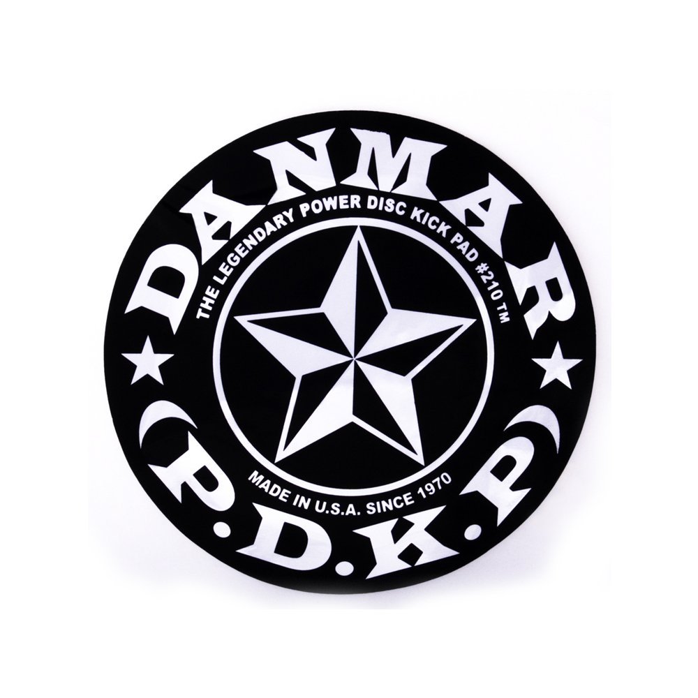 Danmar DA 210STR Star Design Single Bass Drum Impact Pad