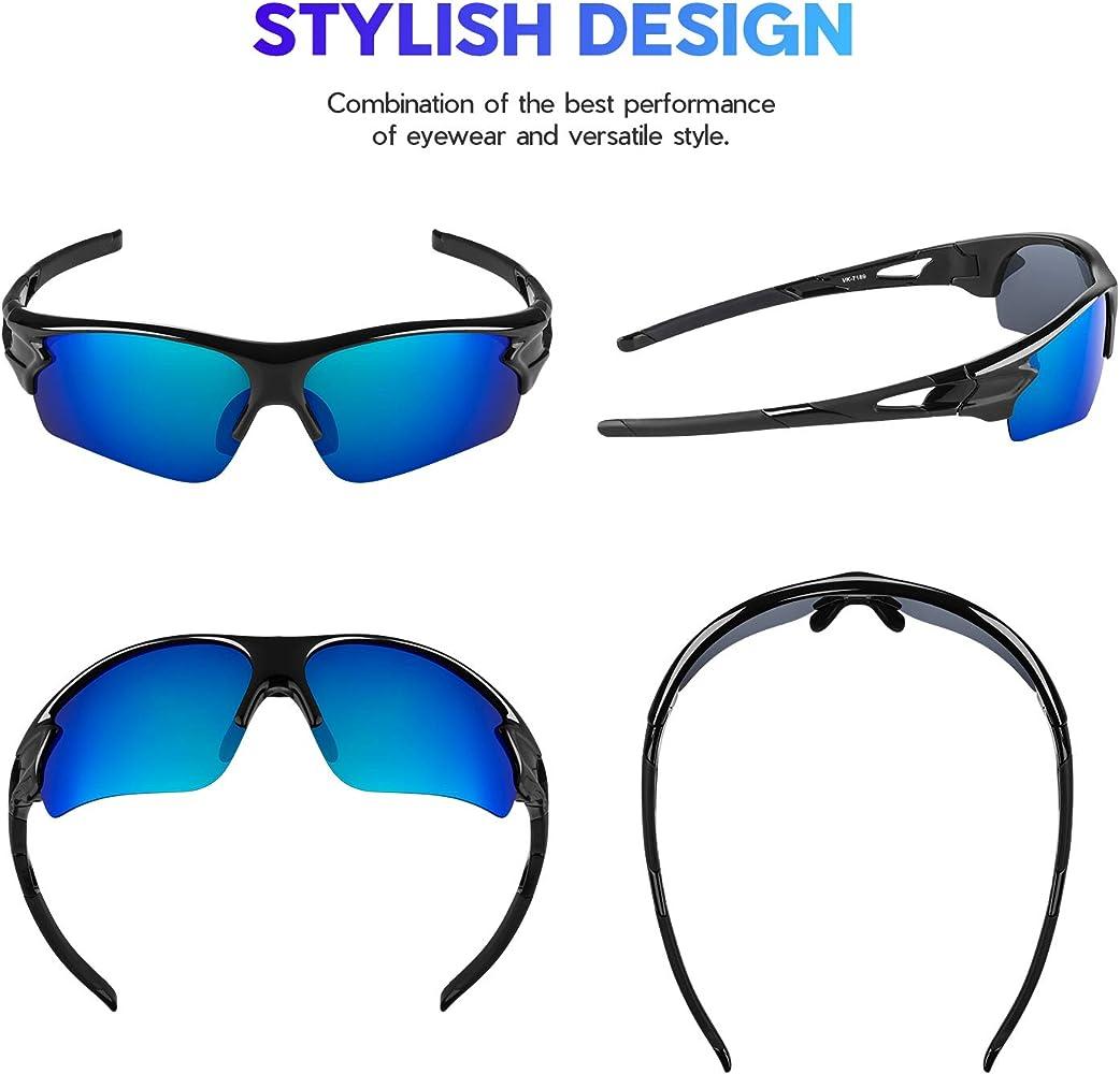 Sunglasses Man Women Cycling Running Driving Sports HD SunGlasses Tac HD