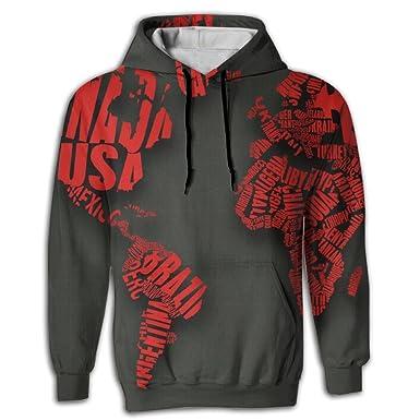 World map latin america africa unisex sweatshirts at amazon mens world map latin america africa unisex sweatshirts at amazon mens clothing store gumiabroncs Images