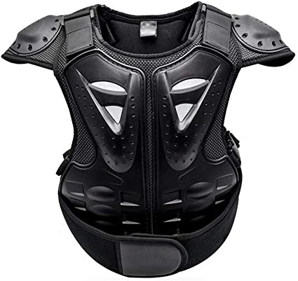 Kids Armor Body Jacket Bike Motorcycle Chest Protector Skateboard Back Guards
